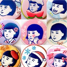 「毛穴撫子」キャンペーン企画用クッキー