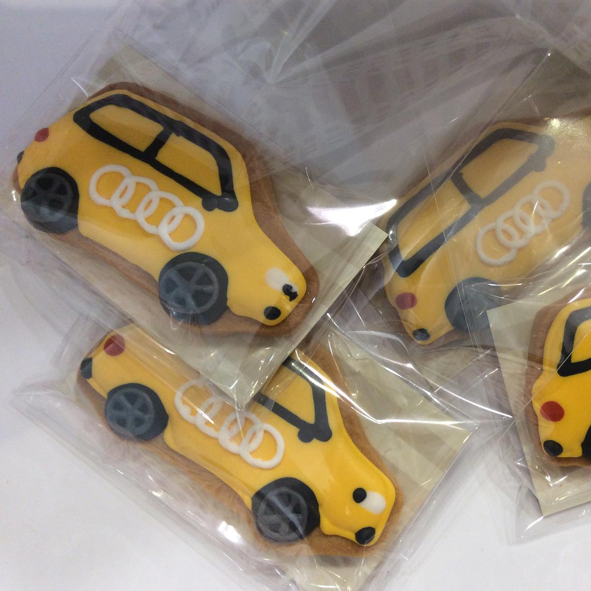 「AUDI」S1発売記念 ノベルティ クッキー