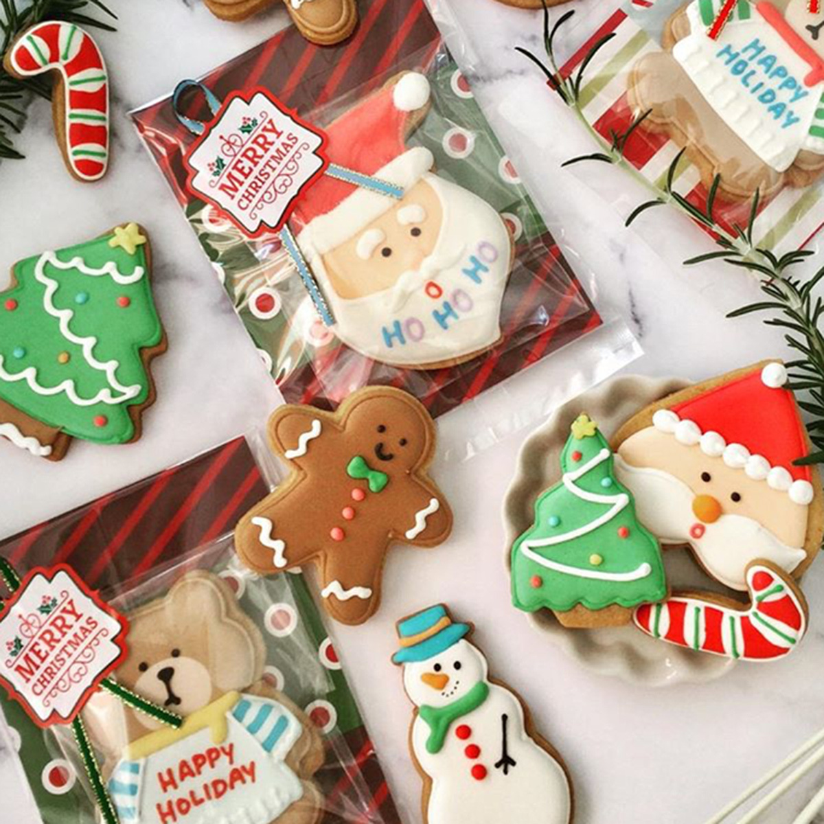 【Gallery】クリスマス2018 HOLIDAY COOKIES