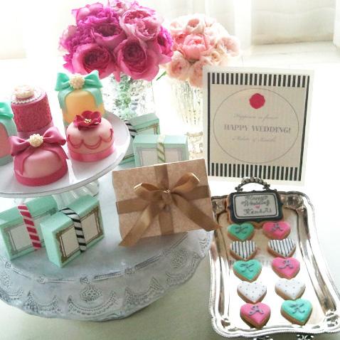 Wedding Party/新郎・新婦イニシャル フィンガーフード