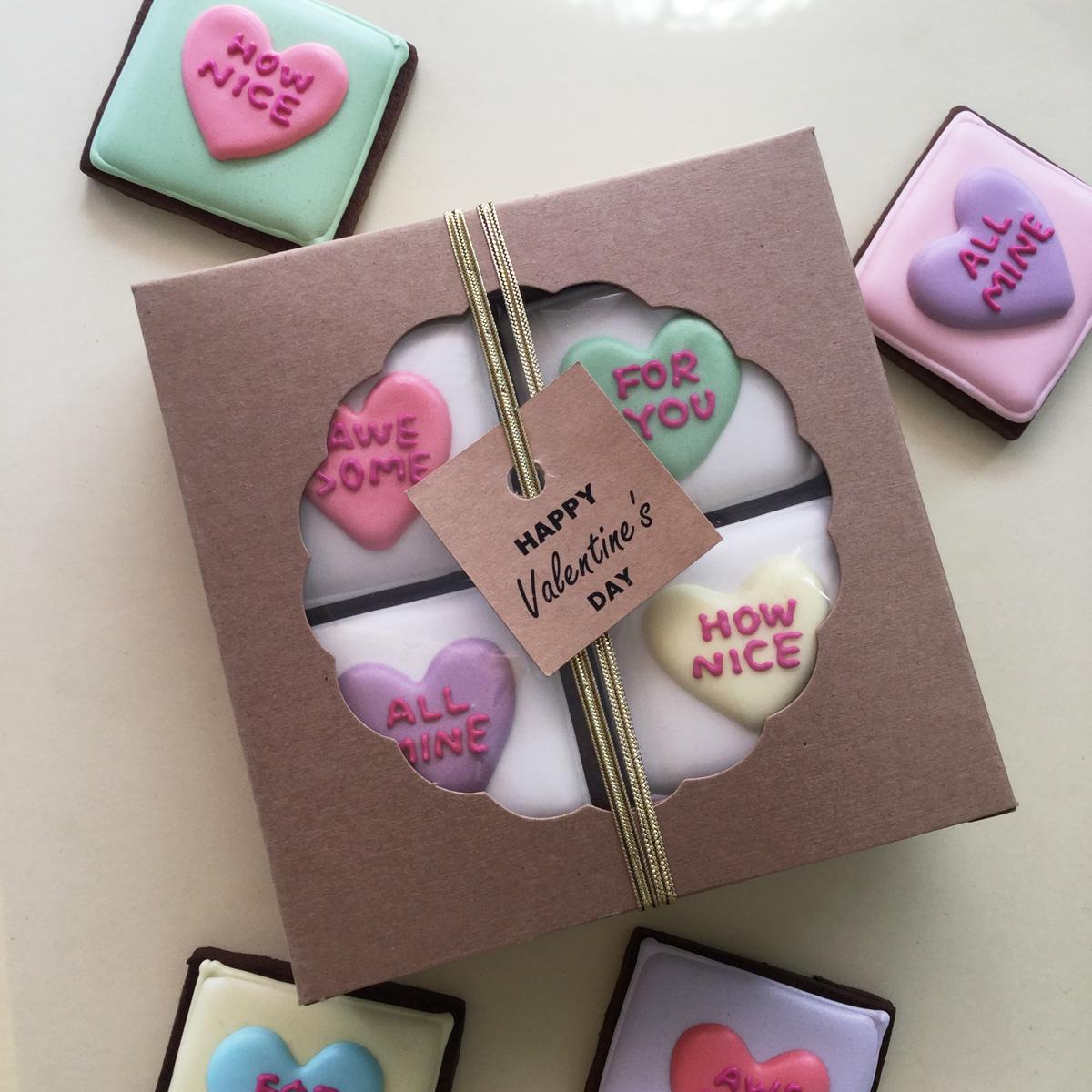 バレンタイン2017 Candy Heartタブレットクッキー