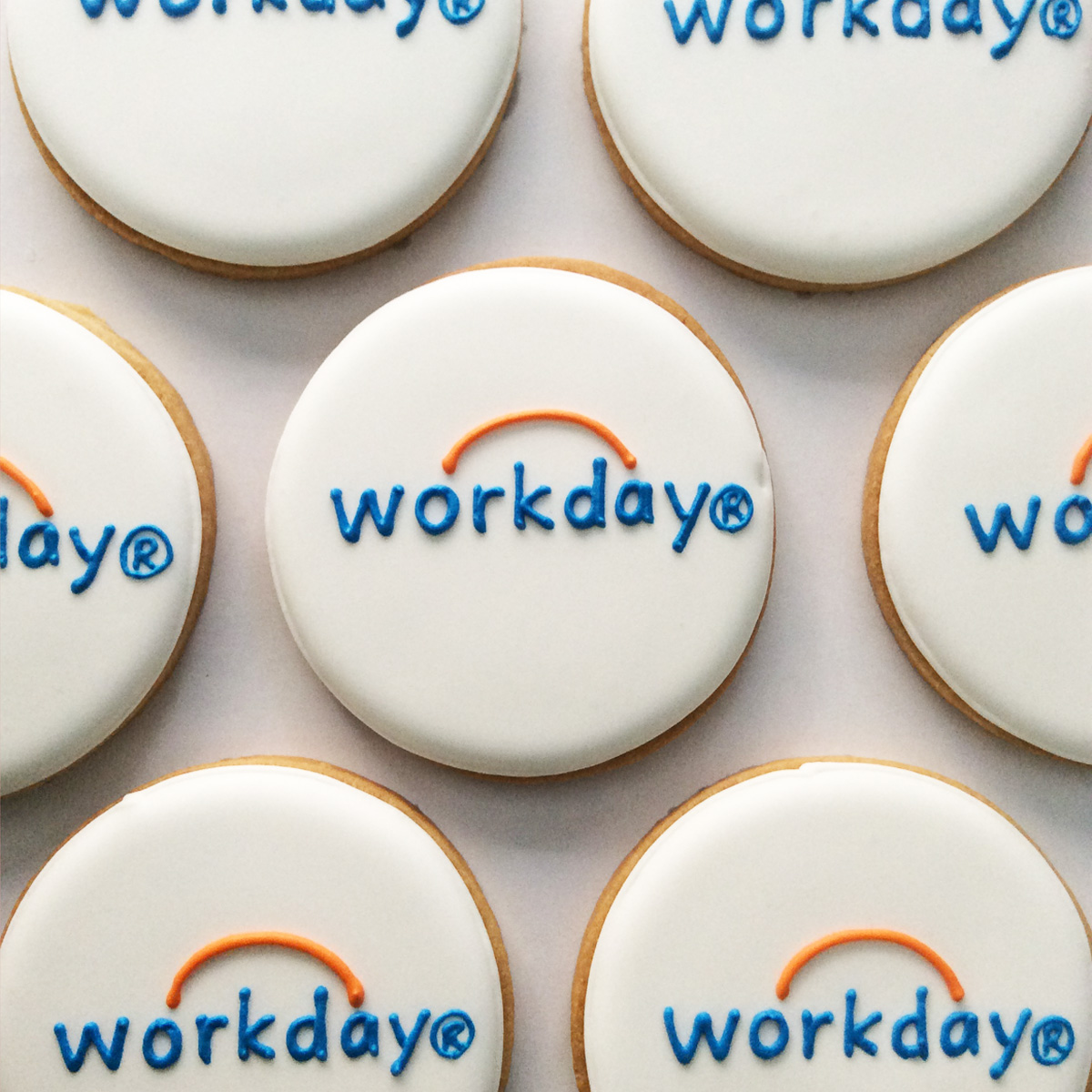 「workday」ロゴクッキー