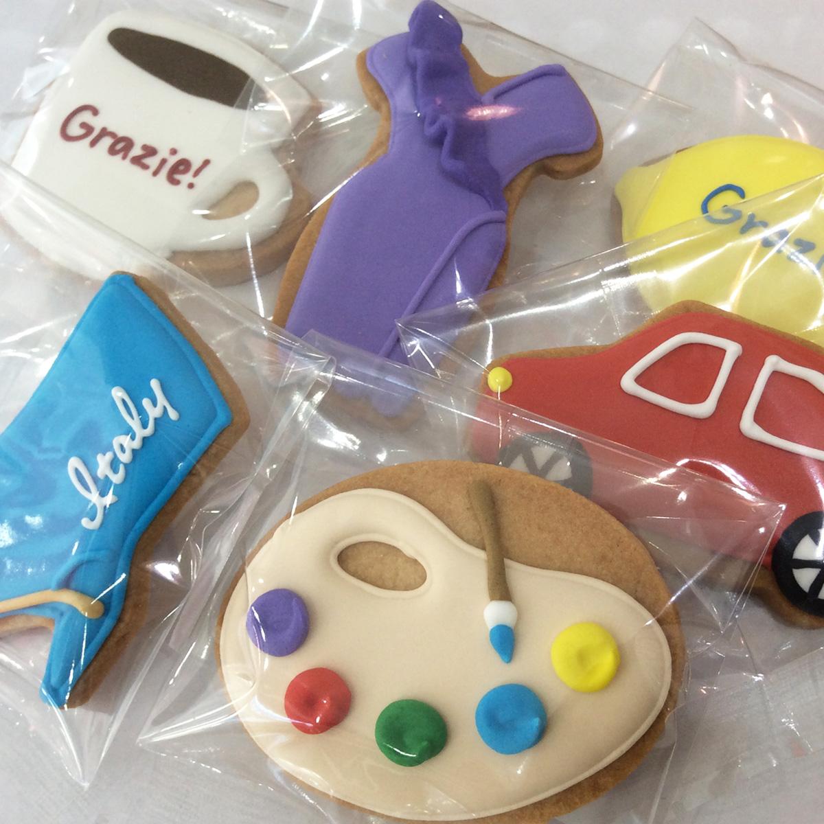 「イタリア展」天満屋/岡山本店 イベントクッキー