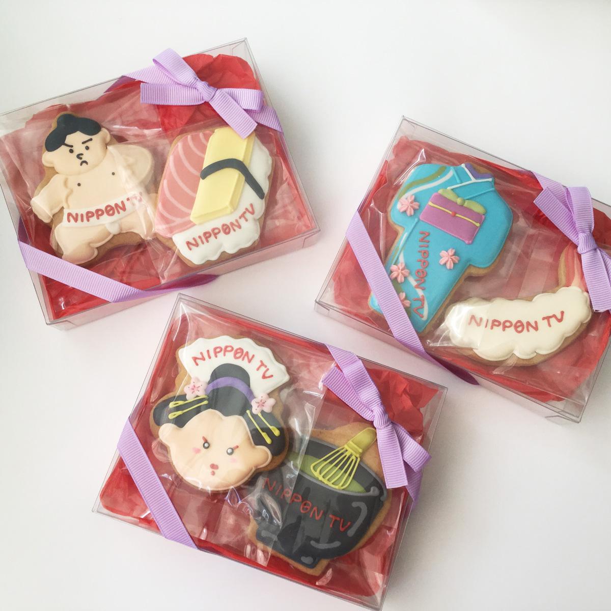 「日本テレビ」JAPANモチーフ クッキーギフト