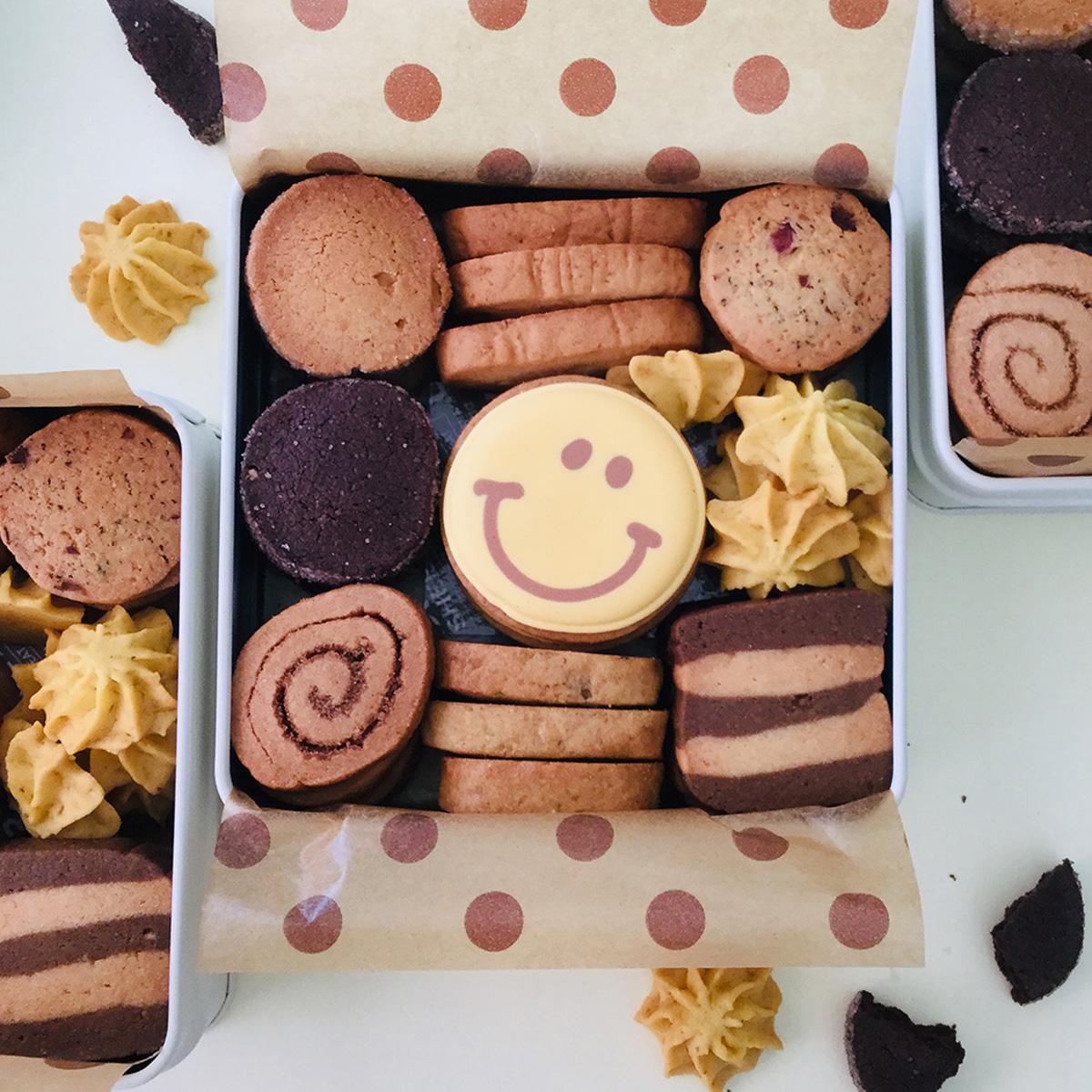 「BAKES」手しごとクッキー缶
