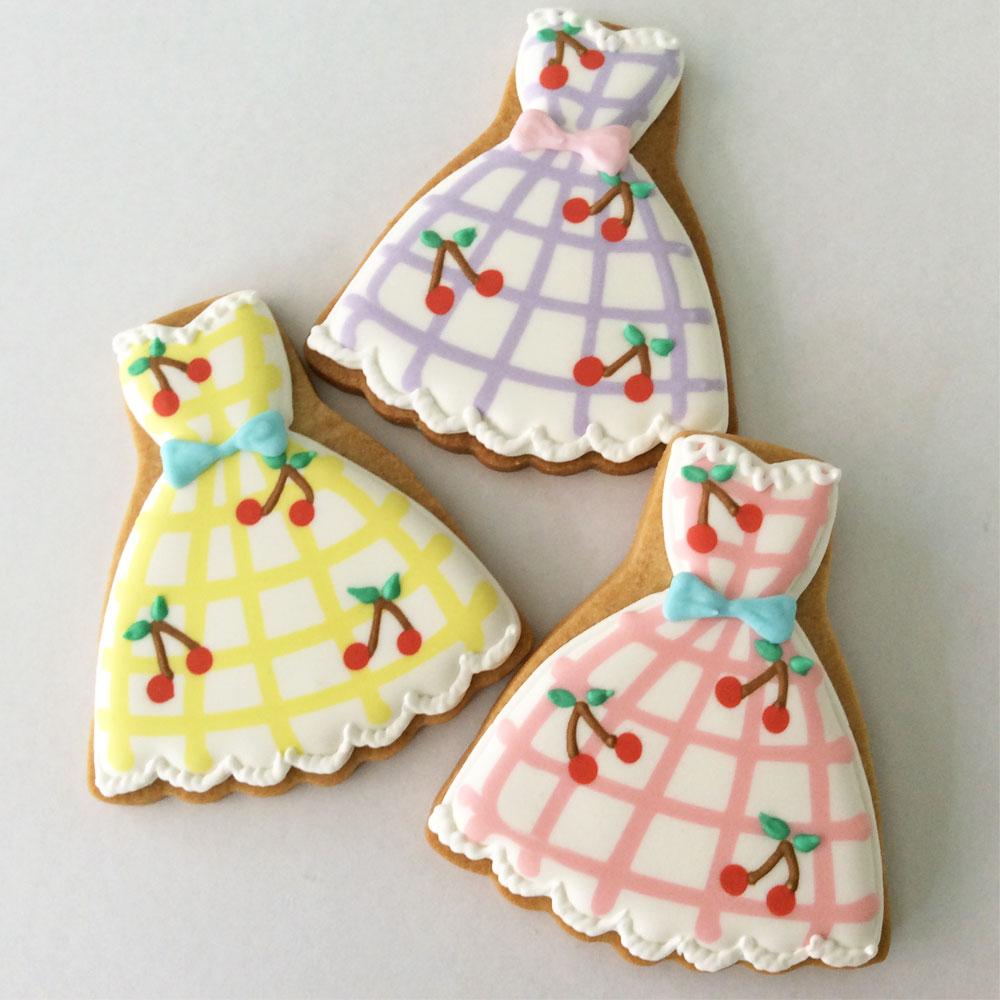 Cherry Bomb Dress Cookie