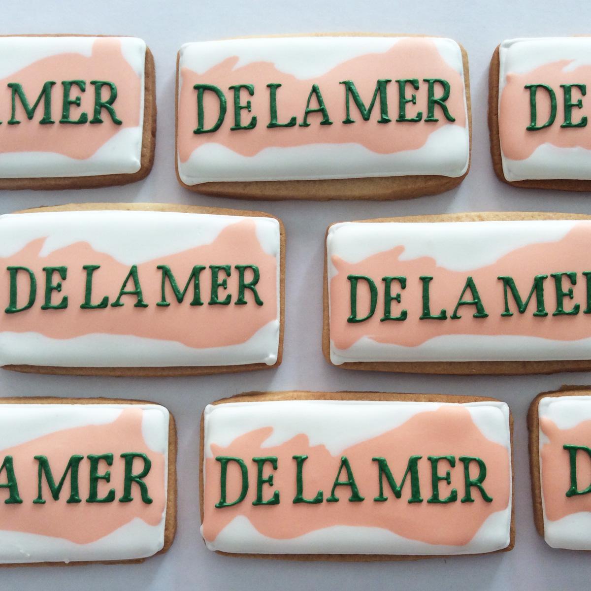 「DE LA MER」ロゴ/ギフトクッキー