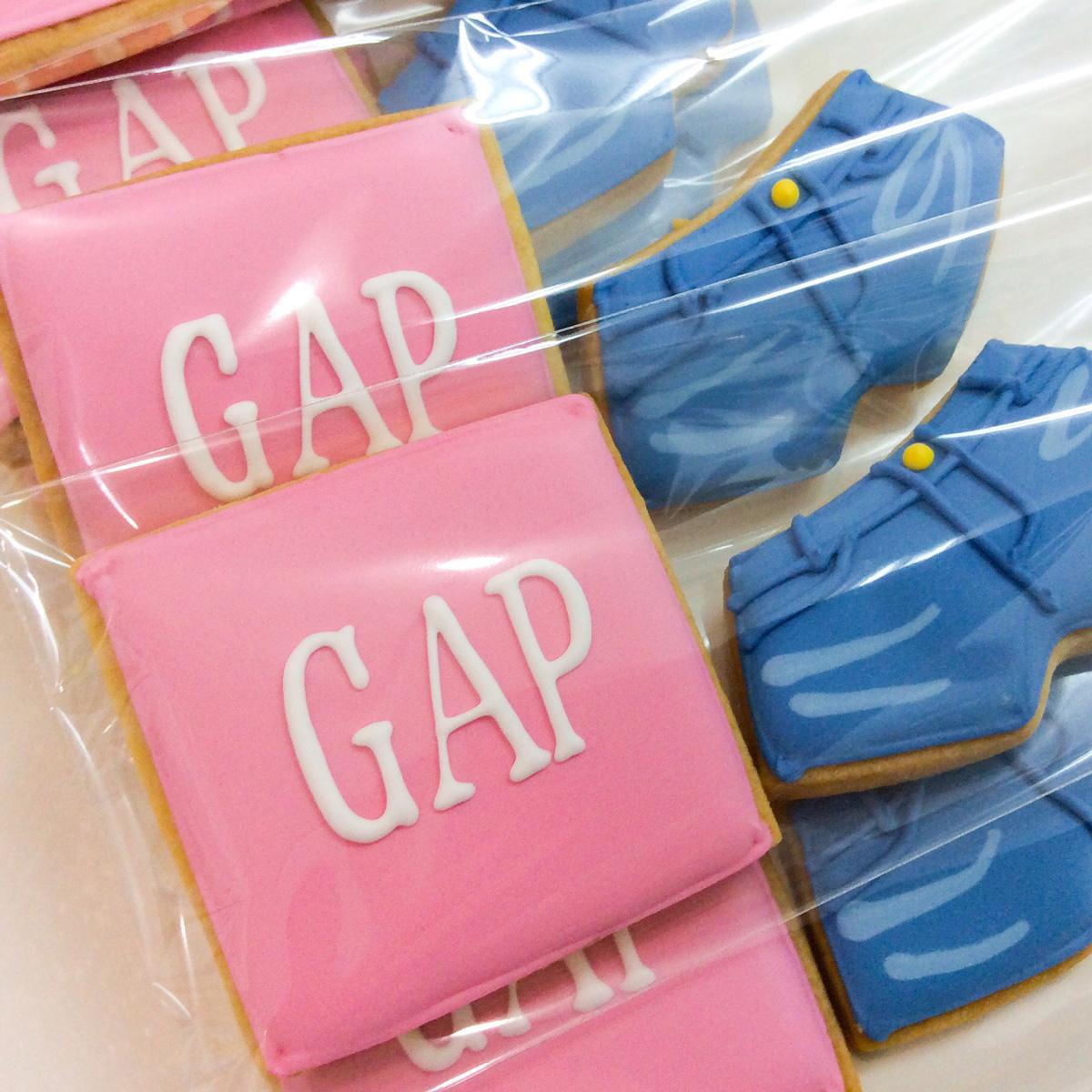 「GAP」ノベルティクッキー
