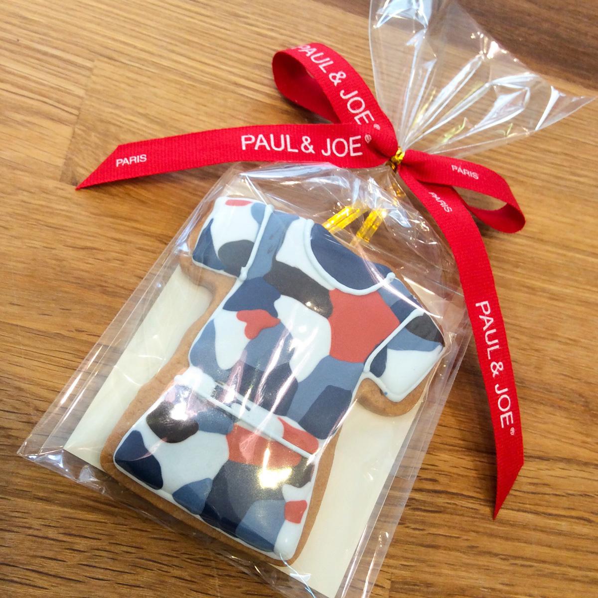 「PAUL & JOE」ノベルティクッキー