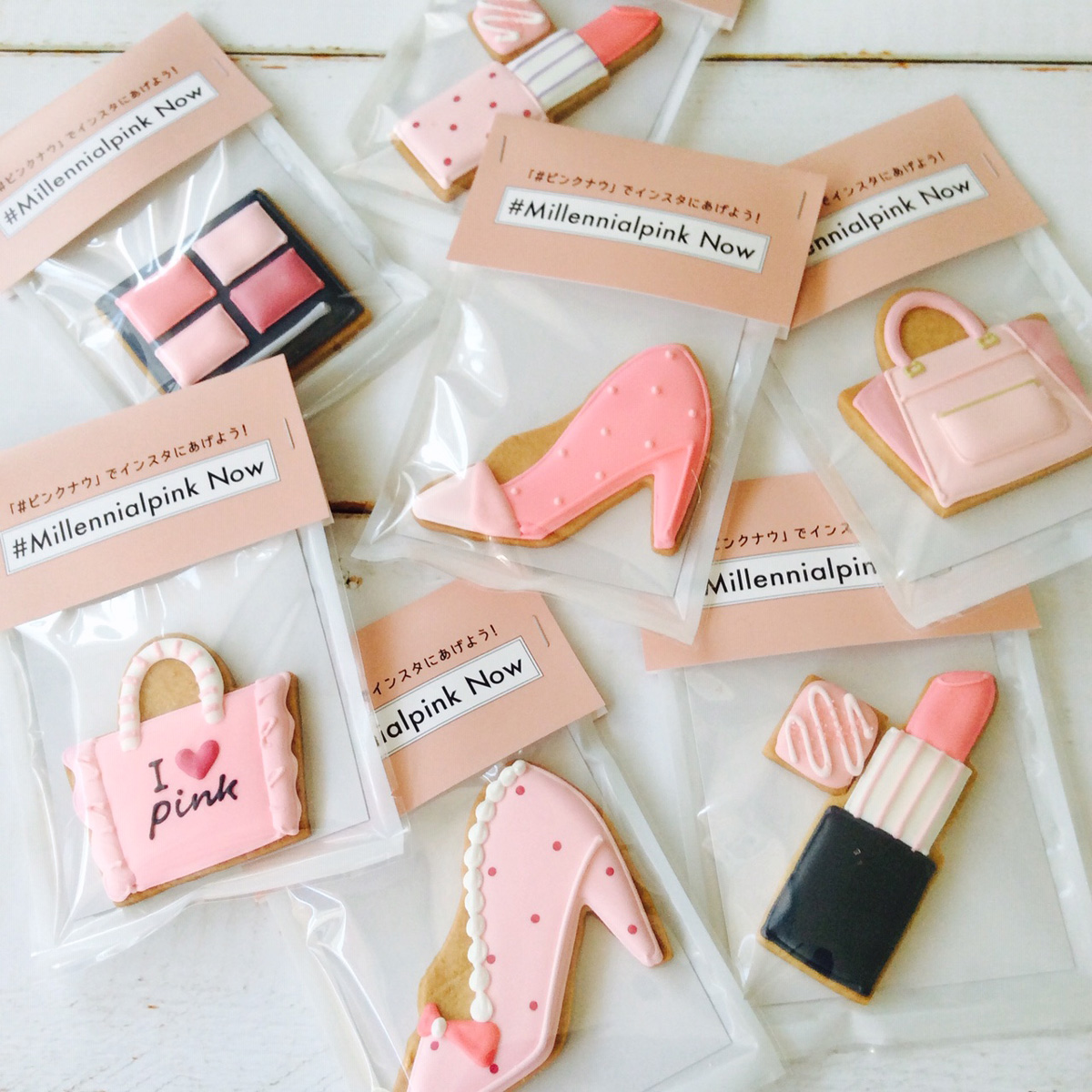 「Millennial pink Now 」キャンペーンクッキー