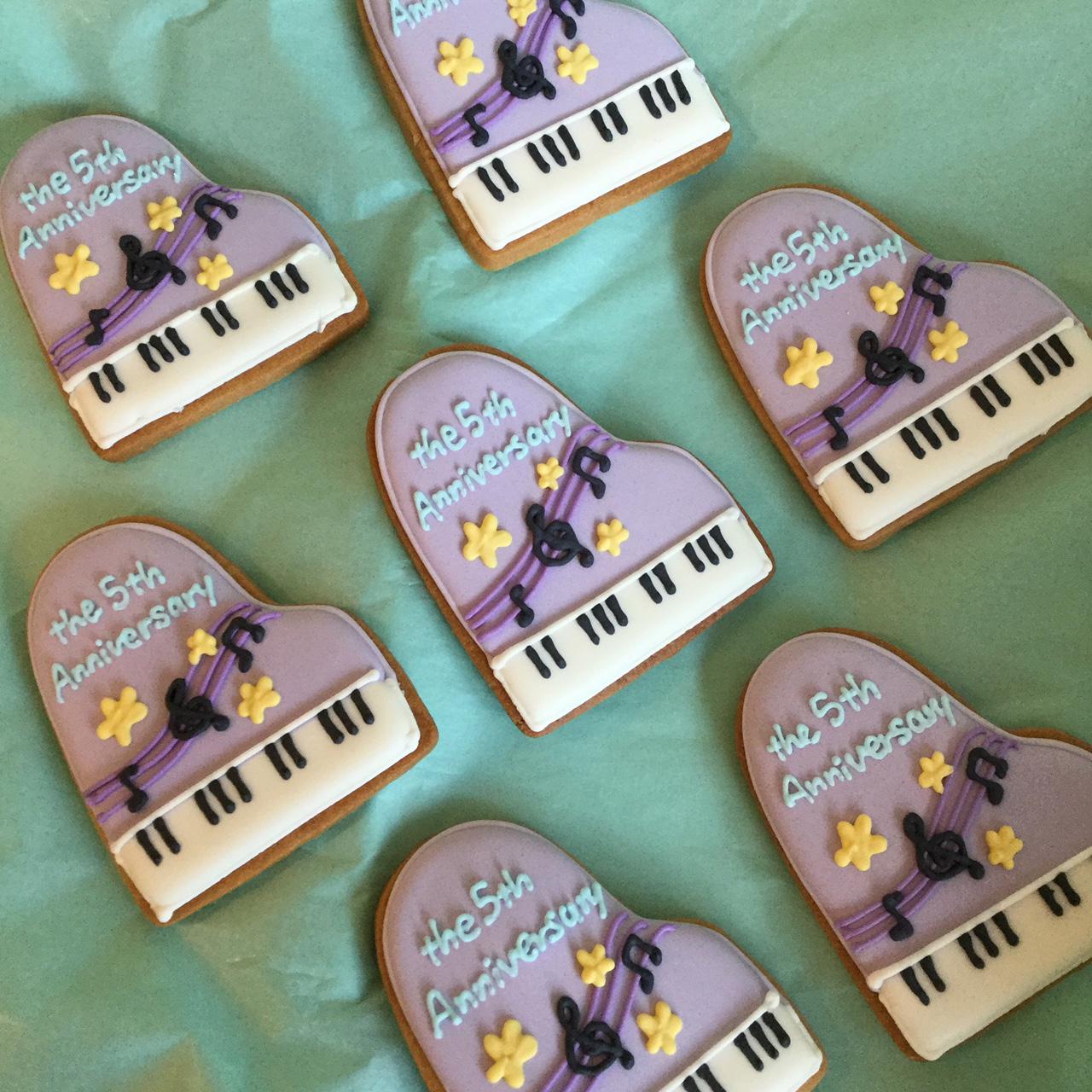 オンライン商品)ピアノ クッキー
