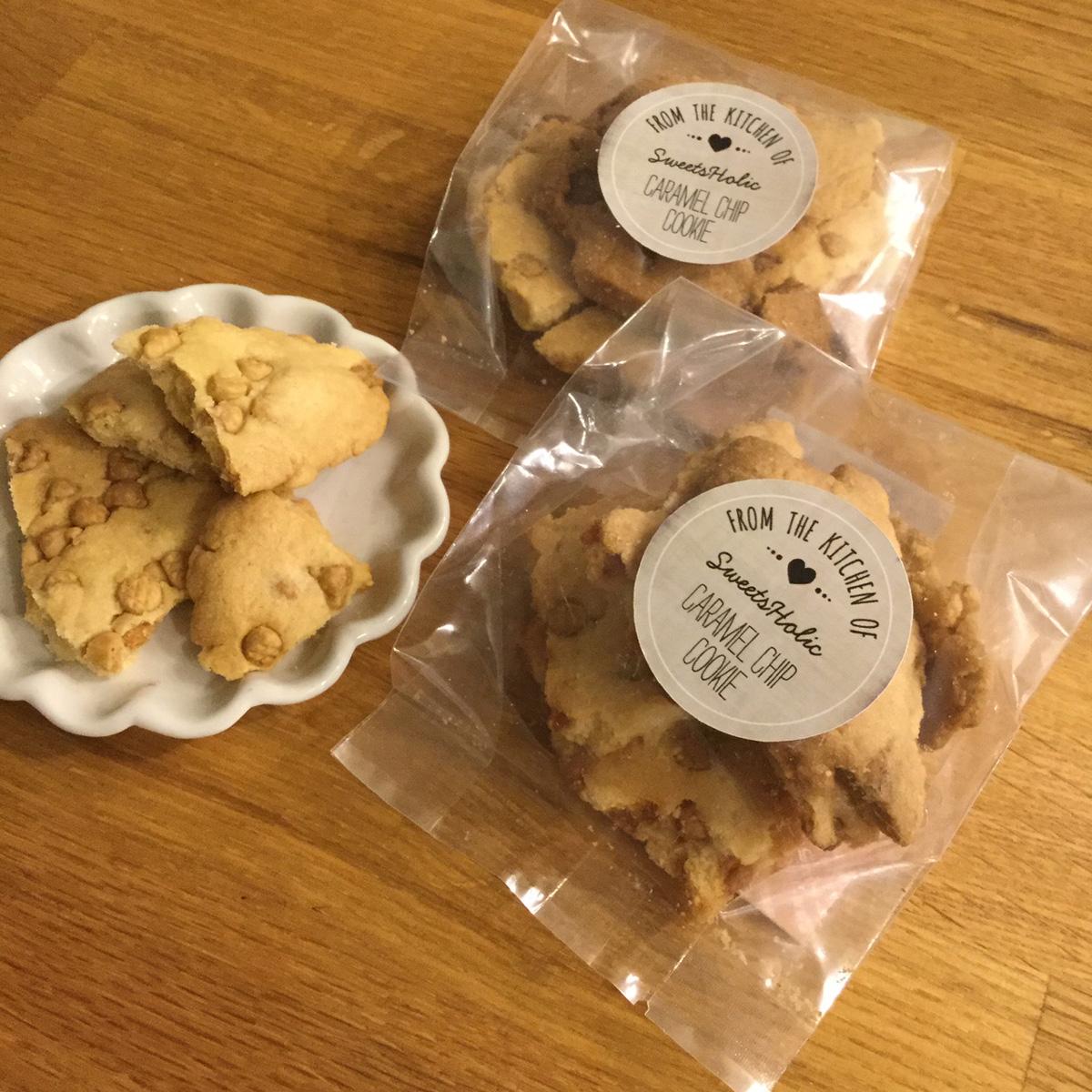 「BAKES」キャラメルチップクッキー
