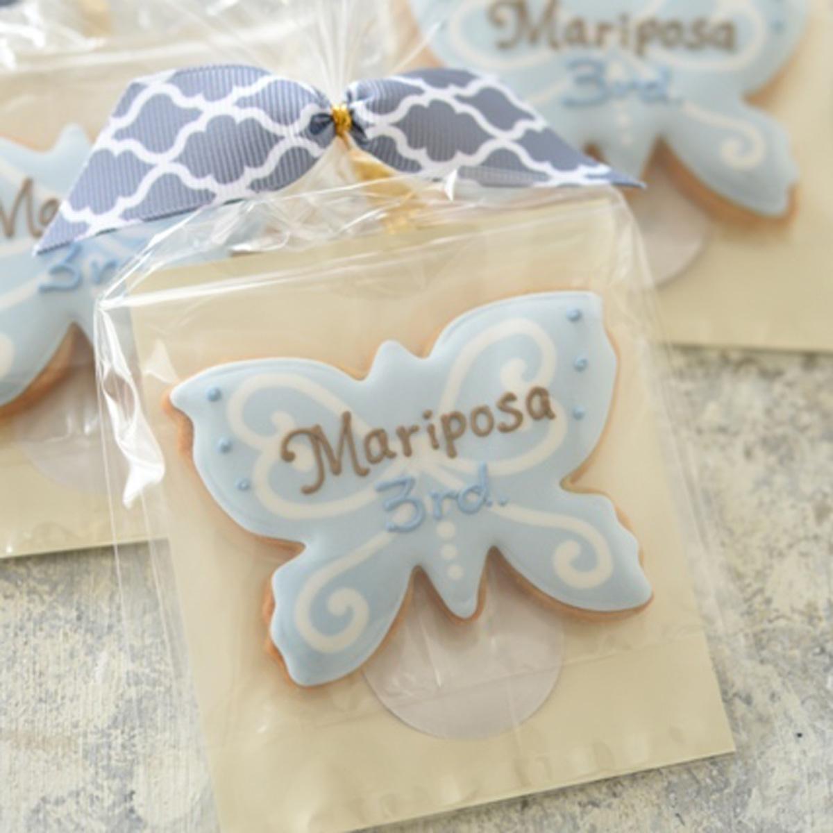 「Mariposa」3周年ノベルティクッキー