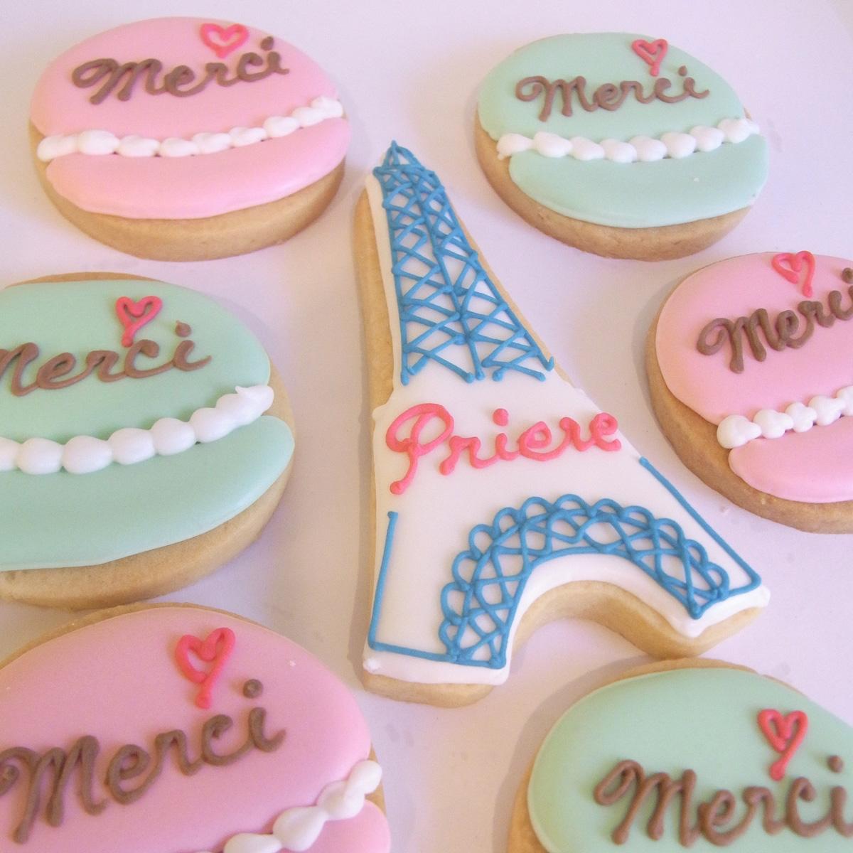 「Priere」ノベルティクッキー