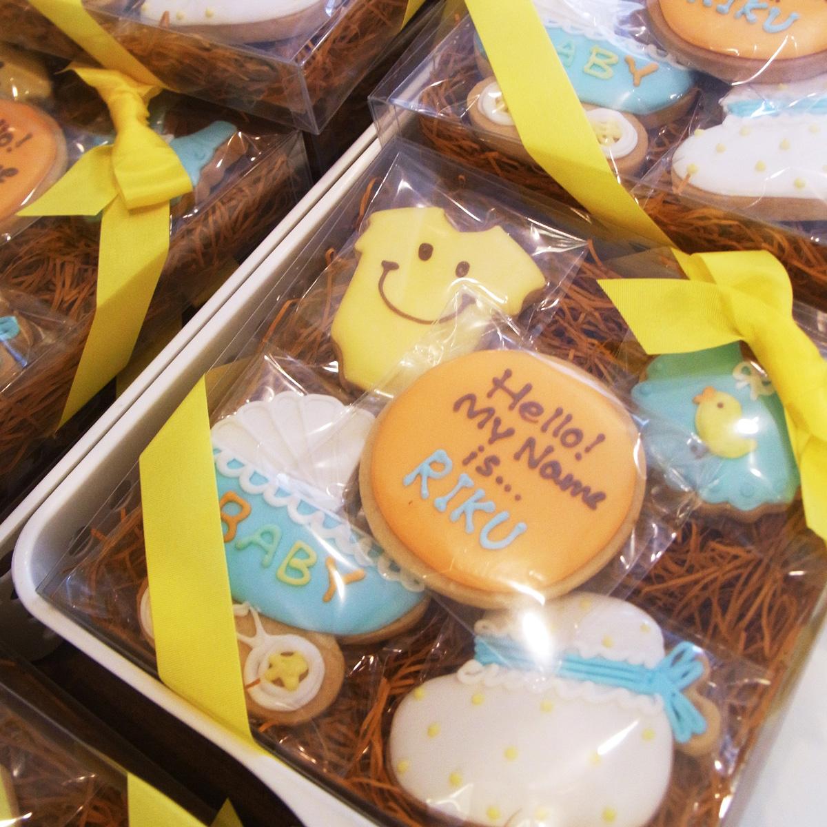 出産内祝い 詰め合わせギフトクッキー