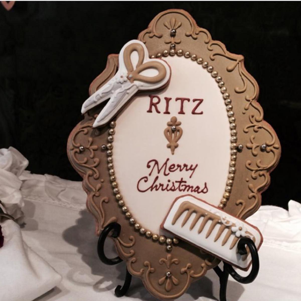 美容室「RITZ」クリスマス2016ウェルカムクッキー