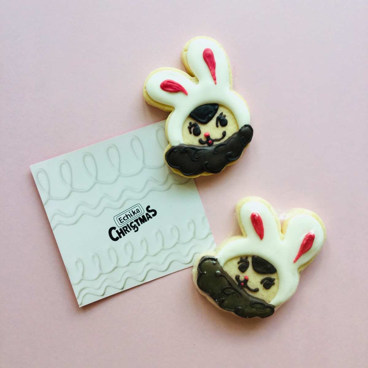 「Echica」クリスマス イベントクッキー