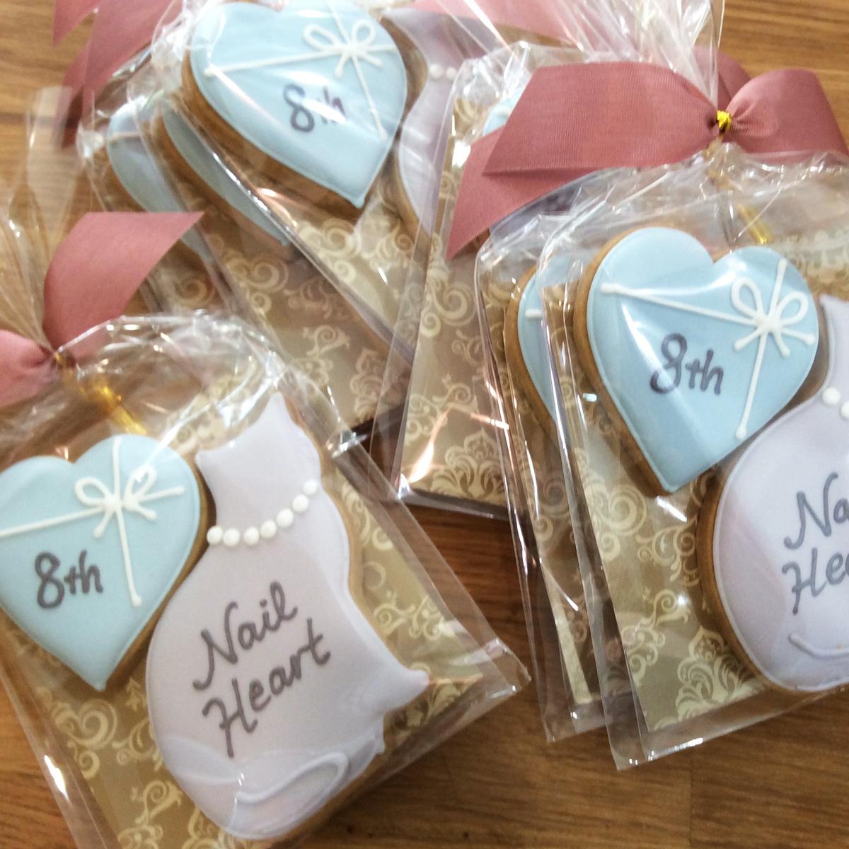 「Nail Heart」8周年アニバーサリークッキー