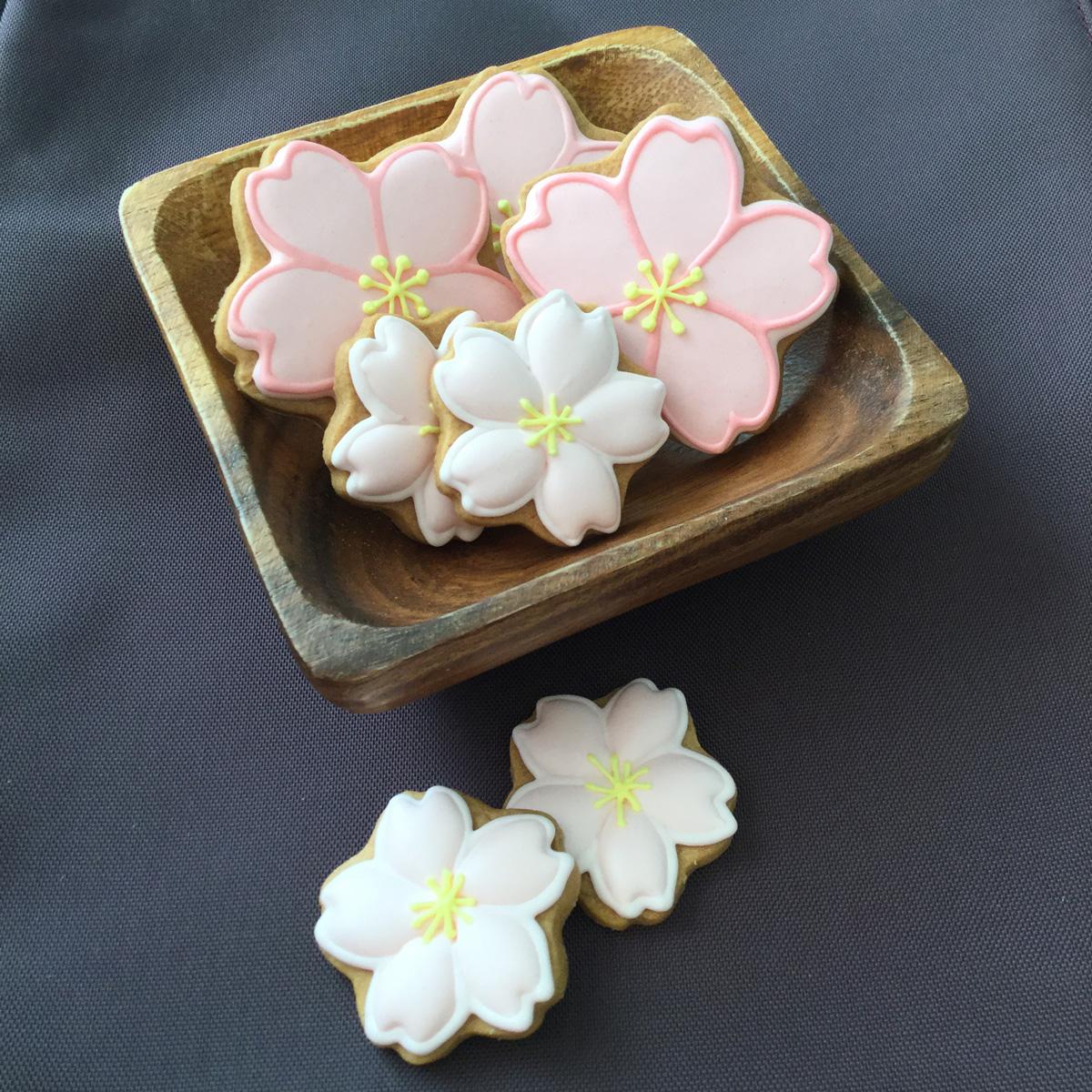 【Gallery】桜のアイシングクッキー2018