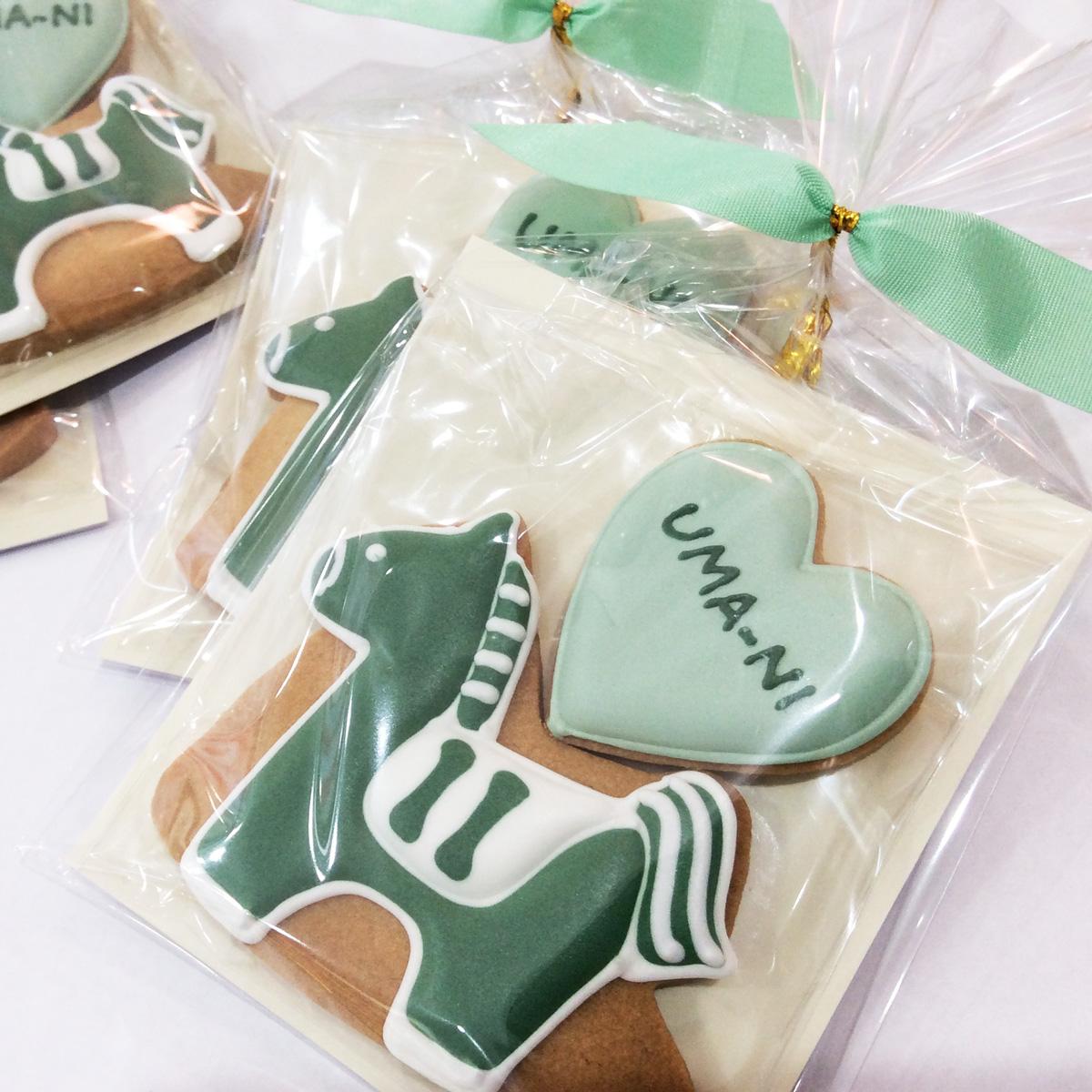 【Gallery】UMA-NI 卒園 謝恩会 記念クッキー