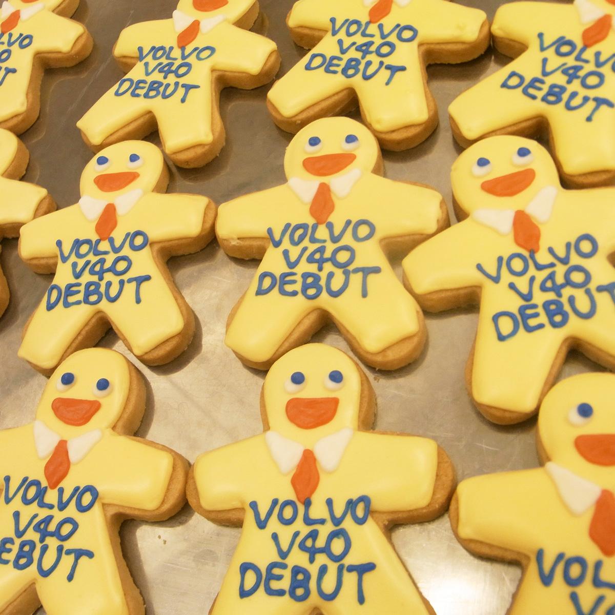 「VOLVO」V40デビューイベントクッキー