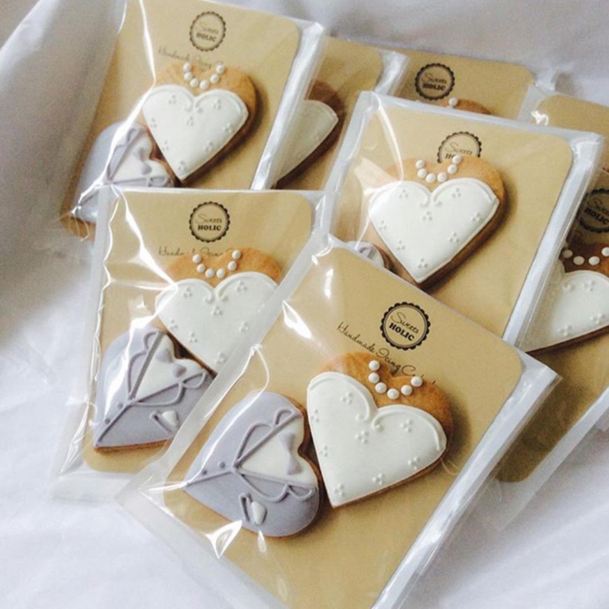WEDDING プチギフト クッキー