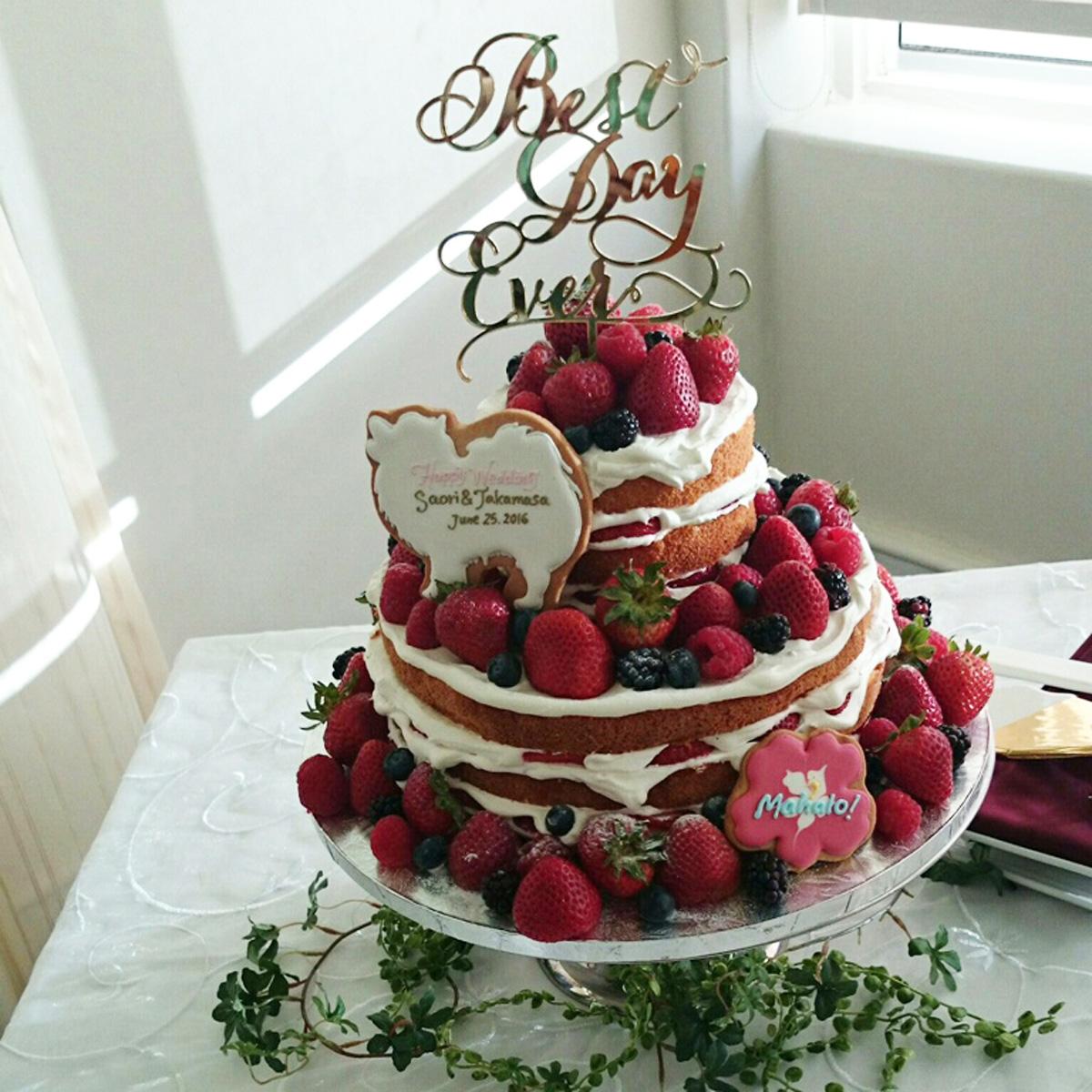 ウェディングクッキー for Cake Decoration